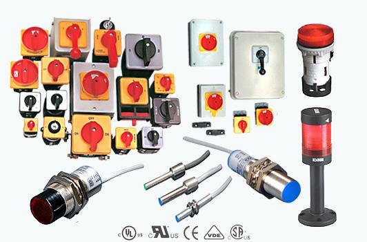 Vypínače, prepínače, signálna technika CG Global