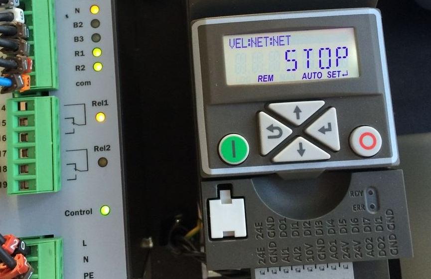 PPU - ovládací displej frekvenčných meničov VS10/VS30/DSV
