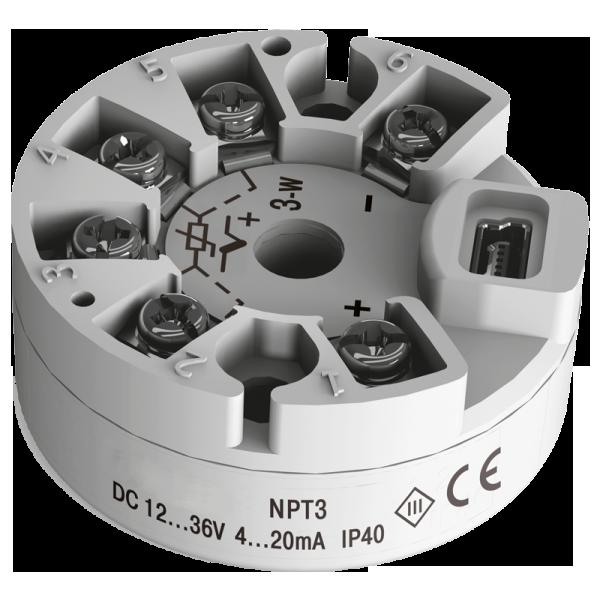 NPT3 prevodník teploty do hlavice DIN-B
