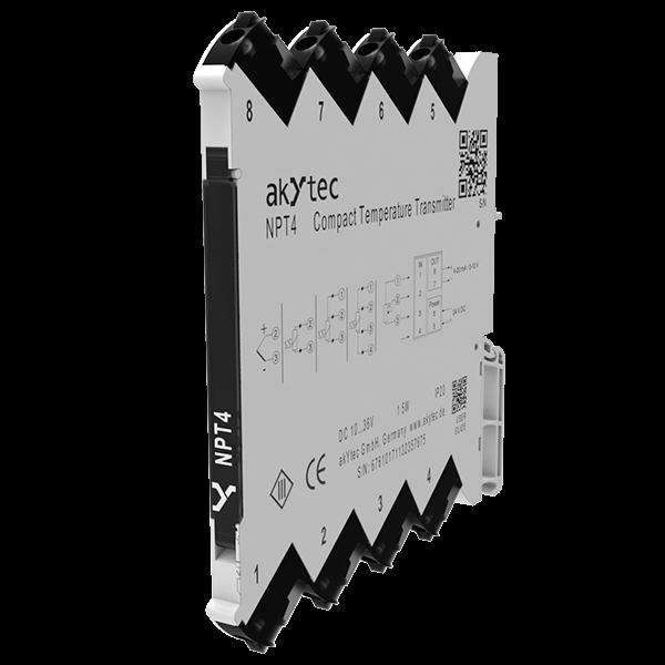 NPT4 kompaktný prevodník teploty so šírkou iba 6,1 mm