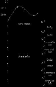 Funkcie zobrazovača teploty ITP16 výstupu on/off a alarmu (blikania) displeja