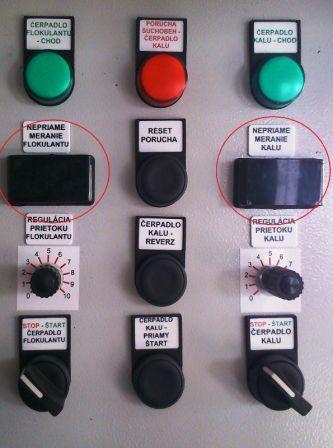Inštalácia zobrazovača - displeja ITP11 4-20mA na kalolise