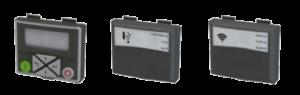 Vymeniteľné ovládacie panely meničov Emotron VS10 / VS30