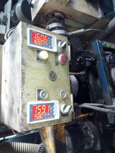 Regulátor teploty TRM500 - 2x, dodatočná inštalácia na stroji