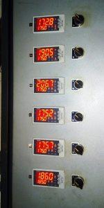 Regulátor teploty TRM500 - 6x
