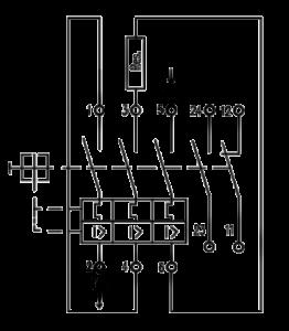 Schéma zapojenia - Istič pre brzdný rezistor - Frizlen FPS