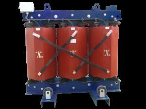 Suchý distribučný transformátor