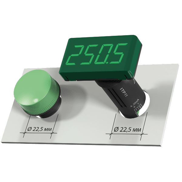 ITP11-G rýchla montáž do otvoru pre kontrolky