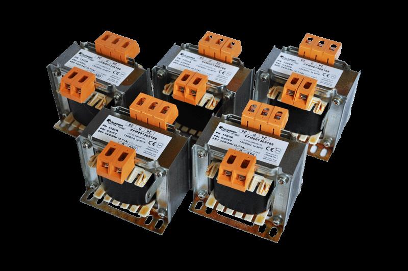 Jednofázové transformátory nn/nn