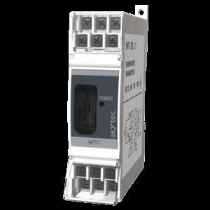 NPT1 - Prevodník teploty na DIN lištu