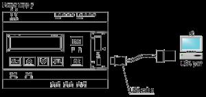 Programovateľné relé PR200, programovanie z PC cez USB
